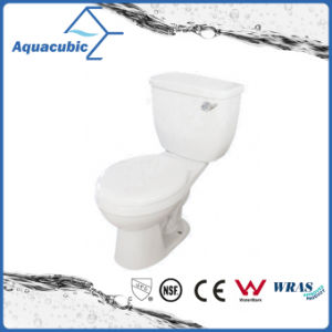 Siphonic Two Piece Single Flush 1.28gpf Elongated Toilet (ACT9008B) pictures & photos