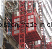 New Twin Mast Section Material Elevator Used for Big Vertical Transprotation pictures & photos