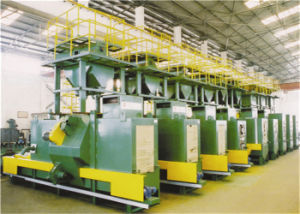 Large Capacity Shot Blasting Machine in Stock pictures & photos