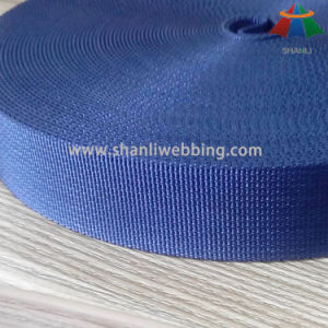 38mm Blue Fine Grooved Nylon Webbing pictures & photos