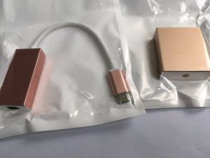 USB C to Displayport Adapter with Aluminium Case 15cm Long pictures & photos
