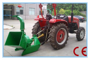 Small Tractor Pto Driven Wood Chipper, CE Approval pictures & photos