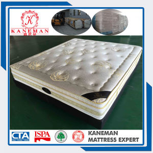 Comfort Made in China Export Euro Top Spring Mattress with Cheap Price pictures & photos