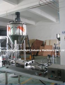 Semi-Auto Sauce Filling Machine with Hot Filling (GHSPF-P100) pictures & photos