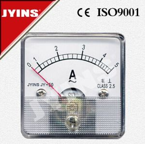 50*50mm Analog Panel Ammeter (JY-50) pictures & photos