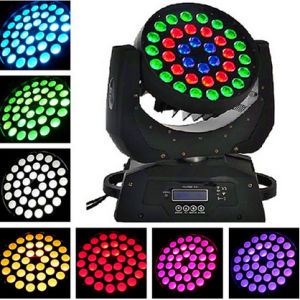 36PCS 10W 6in1 Zoom LED Moving Head Wash Light pictures & photos