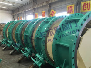 Resilient Seat Double Eccentric Flanged Butterfly Valve (D343X-16) pictures & photos
