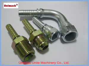 Forged 45° Bsp Female 60° Cone British Hydraulic Fitting pictures & photos
