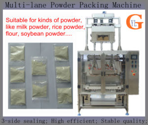 Coffee Powder/Flour/Bean Powder Packing Machine (multi lanes; 3-sides sealing) pictures & photos