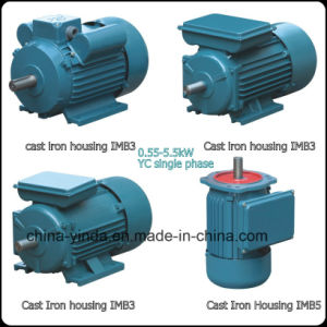 Yc Series Heavy-Duty Single Phase Capacitor Start Motor pictures & photos