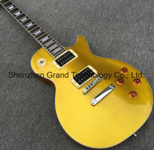 Lp Standard Goldtop 1957 Electric Guitar in Natural Black (GLP-182) pictures & photos