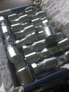 Jic Femail74° Cone Seat SAE J514 Integrated Hose Fittings pictures & photos