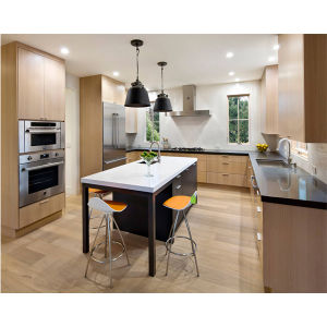 Kitchen Cabinet 2016 Hot Sales Customized Solid Wood Kitchen Furniture Classic Modular Kitchen Unit pictures & photos