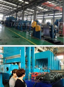 Teel Cord Rubber Conveyor Belt Vulcanizing Press Production Line Machine Factory pictures & photos