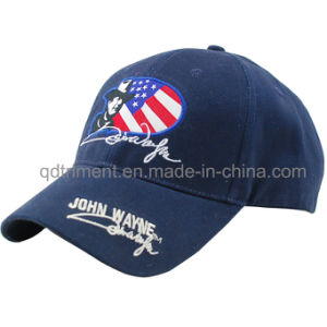 Popular Embroidery Cotton Twill Leisure Baseball Cap (TMB9189-1) pictures & photos