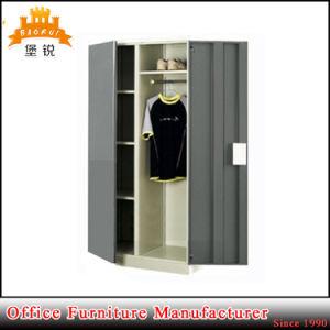 bedroom inside drawer design steel furniture metal clothes dressing wardrobe locker