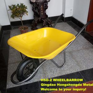 Antique Garden Wheelbarrow with Tube Legs Hsd-2 for UK Market