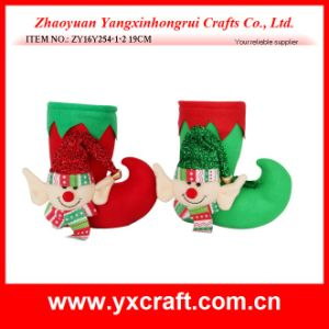 Christmas Decoration (ZY16Y254-1-2 19CM) Online Store Christmas Supplier pictures & photos