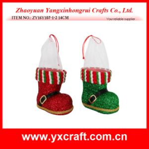 Christmas Decoration (ZY16Y107-1-2 14CM) Christmas Occasion Christmas Advent Boot pictures & photos