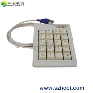 USB PS/2 White/Black Numeric Notebook Keypad Without Module pictures & photos