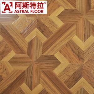 12mm (U-Groove) Parquet Laminate Flooring (AS6973) pictures & photos
