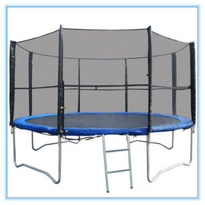 Commonly Used Models: 10FT Outdoor Trampoline with Safety Net, Trampoline pictures & photos
