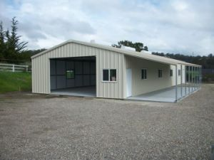 Economical and Practical Steel Structure Garage (KXD-pH2) pictures & photos