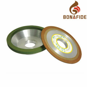 Diamond Resin-Bonded Grinding Wheel with DIP Angle 15° pictures & photos