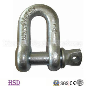 Zinc Plated European Dee Shackle of Marine Hardware pictures & photos