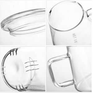 Prime Quality Glass Tea Cup with Filter pictures & photos