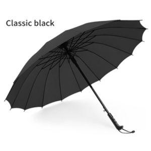 Custom Print Promotional Straight Automatic Big Golf Umbrellas pictures & photos