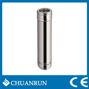 Stainless Steel Double Wall Straight Pipe for Pellet Stoves pictures & photos