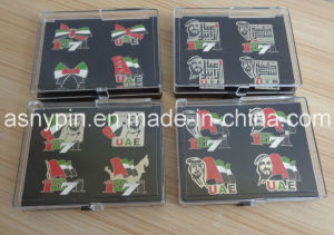 2015 44national Day UAE Badges with Plastic Boxes pictures & photos