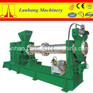 Lanhang Brand Cold Feeding Single Screw Rubber Extruder pictures & photos