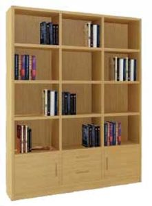 Bamboo Book Shelf Rack Office Shelf Bookcase Storage pictures & photos