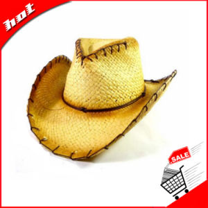 Cowboy Hat Straw Hat Paper Hat Printed Paper Straw Hat pictures & photos