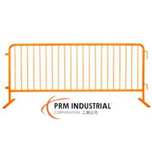 8′ Crowdmaster Barricade Safety Orange Steel Barricade, Flat Feet pictures & photos