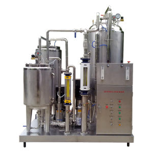 Full Automatic 3000L/H Carbonated Drinks Mixing Machine pictures & photos