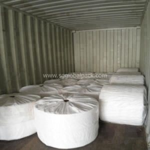 50kg Transparant PP Woven Fabric for Sugar Bag, Food Bag pictures & photos
