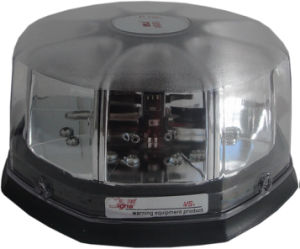 White LED Beacon Lights with Transparent Lens for Ambulance Vehicle