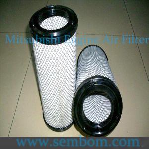 High Performance Engine Air Filter for Mitsubishi Excavator/Loader/Bulldozer