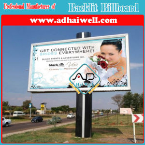 6X3 Meter Outdoor Double Face Backlit Billboard pictures & photos