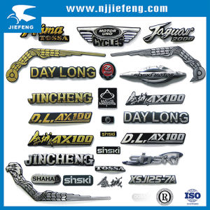 OEM 3D Plate Dome Resin Badge Laser Crystal Decoration Emblem pictures & photos
