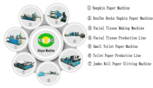 Full Automatic 1/4 Folding Paper Napkin Machine Price pictures & photos