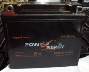 12V7.0ah Sealed Maintenance Free Lead Acid Factory Activated Motorcycle Battery pictures & photos