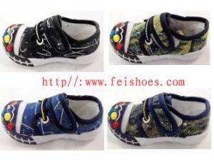 Hot Sale Fashion Canvas Baby Shoes Infant Shoe (HH12-37) pictures & photos