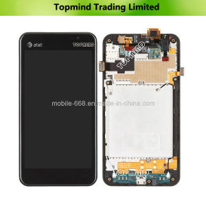 LCD Display for LG Escape P870 with Digitizer with Front Housing pictures & photos