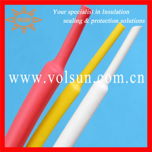 Red Yellow White Dual Wall Heat Shrink Tube pictures & photos