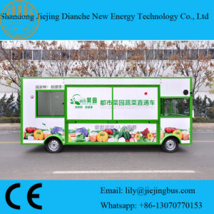 Vegetable and Fruit Fresh Food Truck with High Quality and Competitive Price pictures & photos