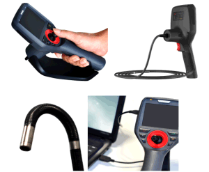Joystick Industry Video Endoscopy with 360 Degrees Rotation, 1.5m Testing Cable pictures & photos